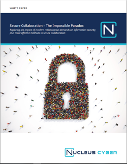 Secure Collaboration Paradox